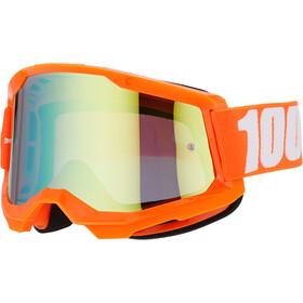 100% Strata Occhiali antiappannamento Gen2, arancione